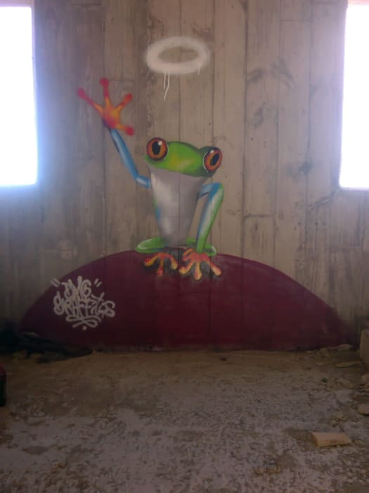 trabajos realizados: Paredes de estilo  de dmg-graffitis