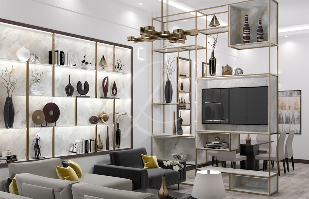 Modern Luxury Indoor Garden Design Modern Living Room By Comelite Architecture Structure And Interior Design Modern Homify