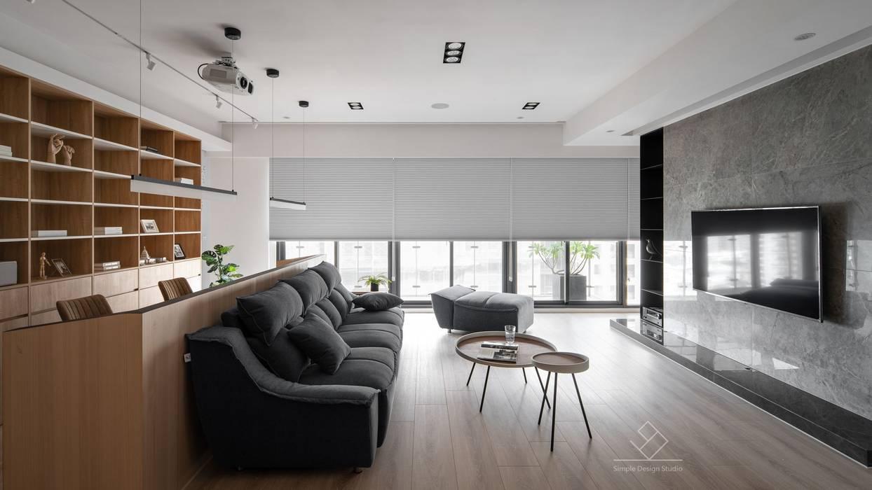 公共空間 根據 極簡室內設計 Simple Design Studio 現代風