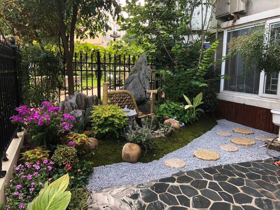 SuZhou Garden05:  Front yard by  M  Garden