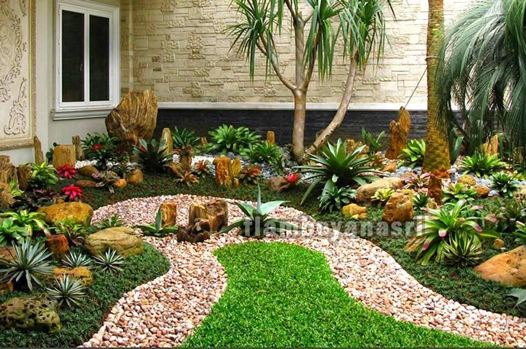 Tukang taman Surabaya Desain Taman Jepang Zen Oleh Tukang Taman Surabaya - flamboyanasri Klasik
