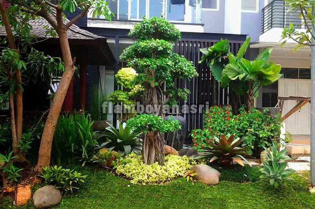 Jasa Pembuatan Taman Surabaya Oleh Tukang Taman Surabaya - flamboyanasri Modern