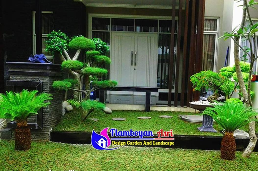 Tukang Taman Surabaya - Desain Minimalis Depan Rumah Oleh Tukang Taman Surabaya - flamboyanasri Minimalis