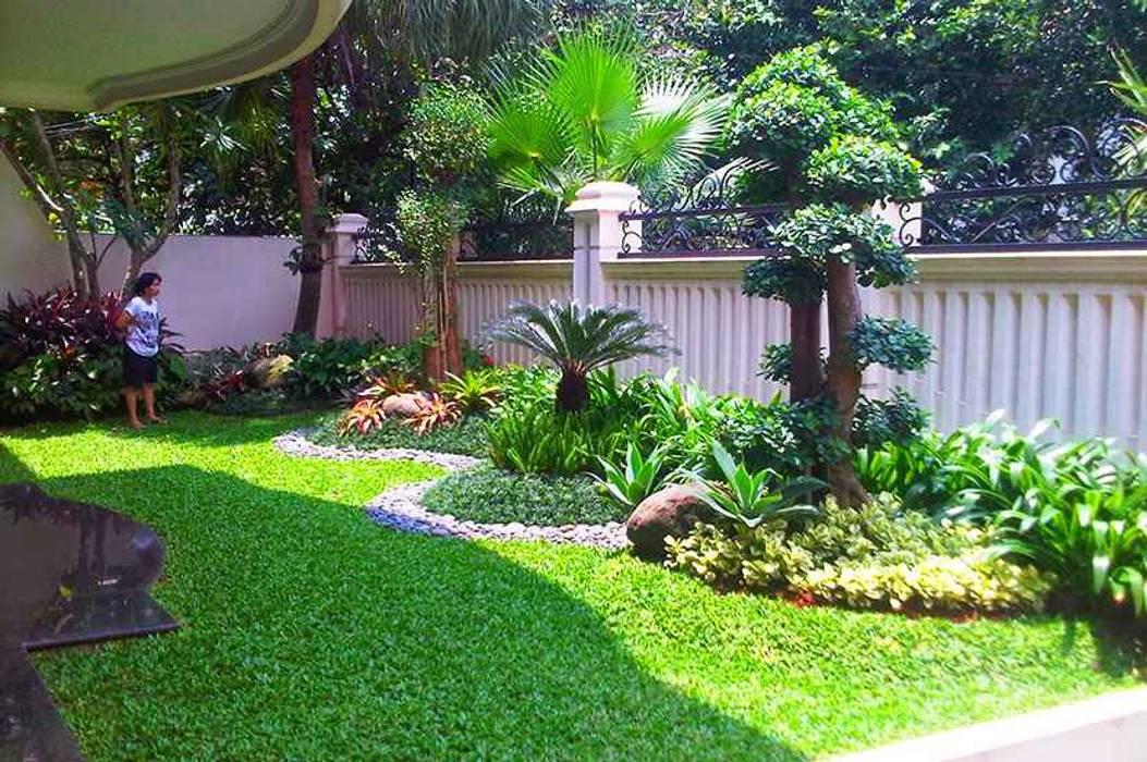 Tukang taman surabaya -Desain taman Minimalis Oleh Tukang Taman Surabaya - flamboyanasri Minimalis