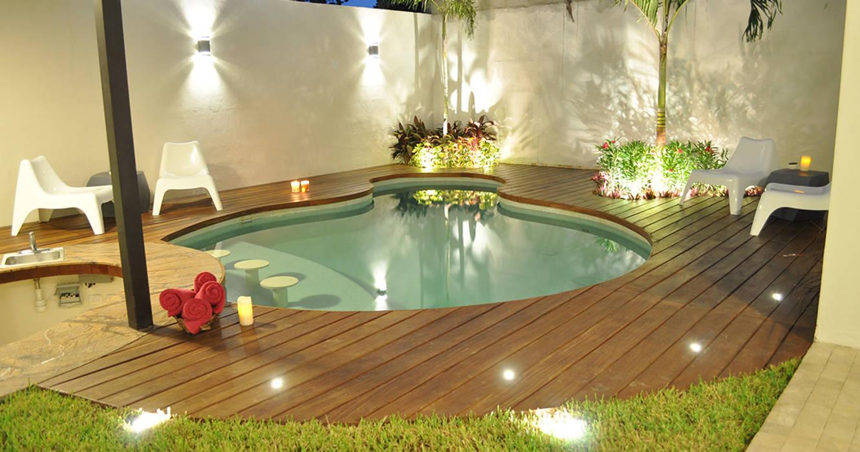 Piscinas: Piscinas de jardín de estilo  por Corporación Siprisma S.A.C, Moderno