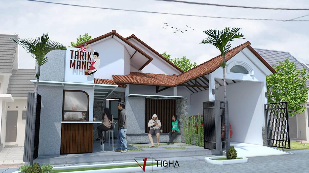 Tarik Mang Cafe: Halaman depan oleh Tigha Atelier,