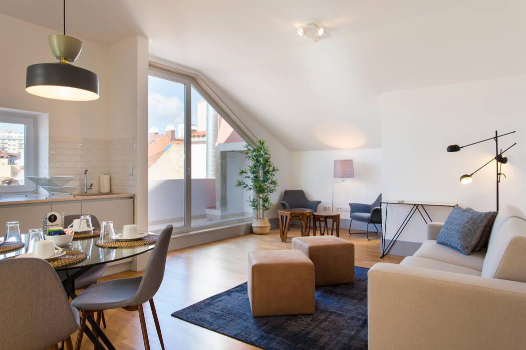 Traço Magenta - Design de Interiores Living roomAccessories & decoration