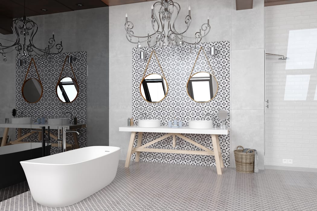 Bathroom by CERAMICHE MUSA