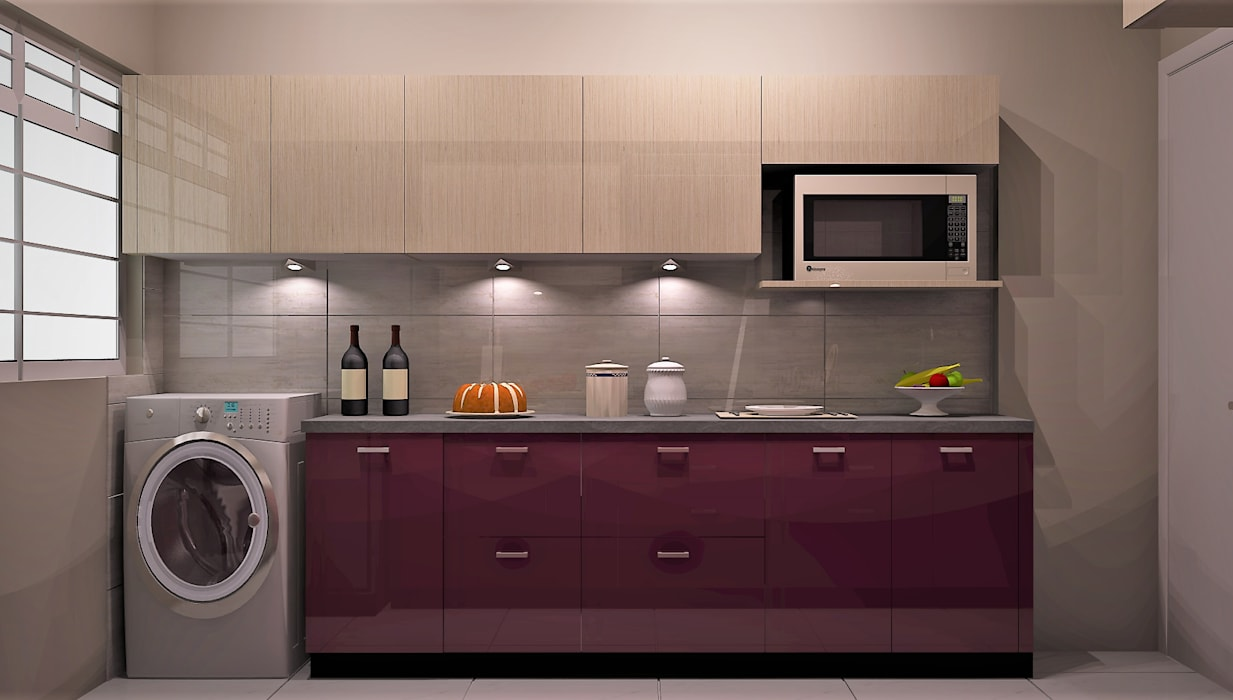 Kitchen by Golden Spiral Productionz (p) ltd, Modern