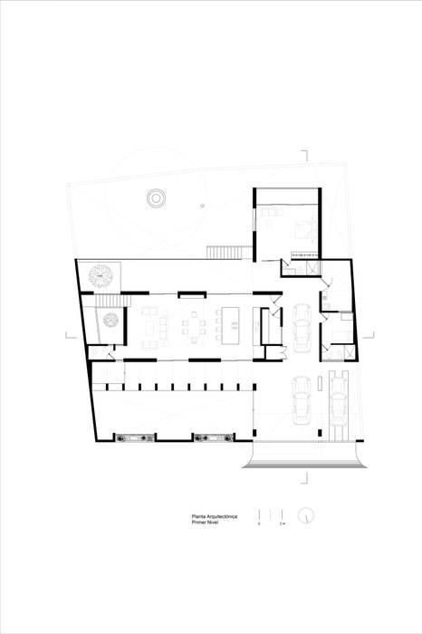 Casa Ataúlfo:  de estilo  por Apaloosa Estudio de Arquitectura y Diseño
