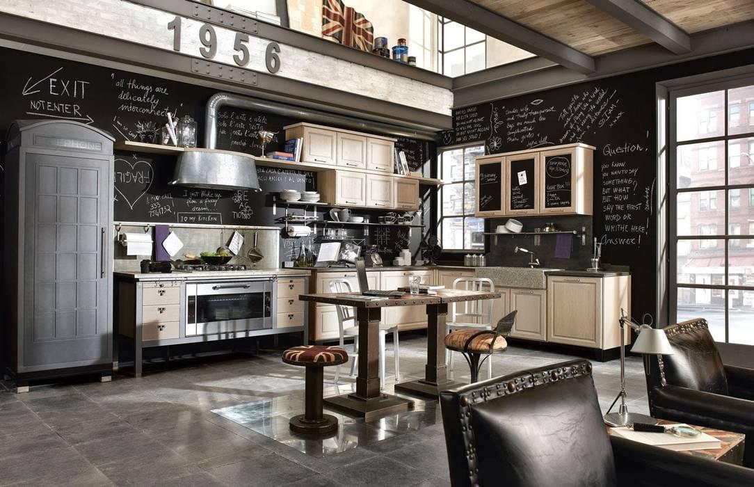 Cucina attrezzata in stile di dialma brown méxico | homify