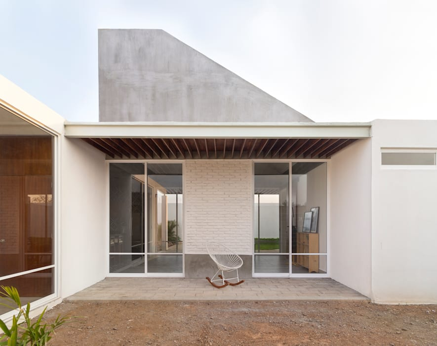 Casa Santo Domíngo: Casas de estilo  por Apaloosa Estudio de Arquitectura y Diseño, Moderno