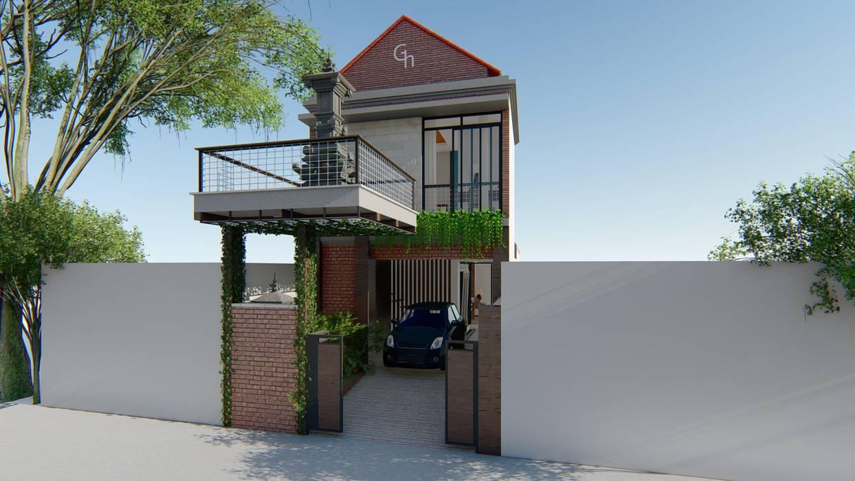 tampak depan:  Ruang Komersial by Aper design