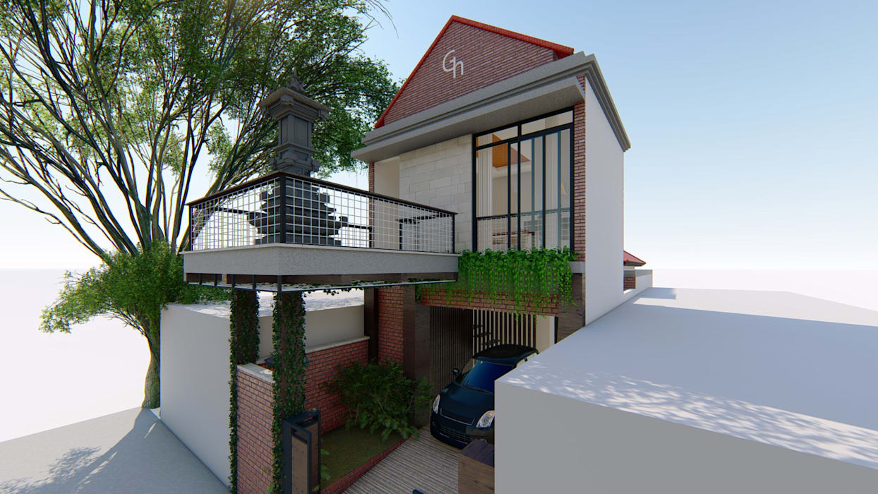 perspektif:  Ruang Komersial by Aper design
