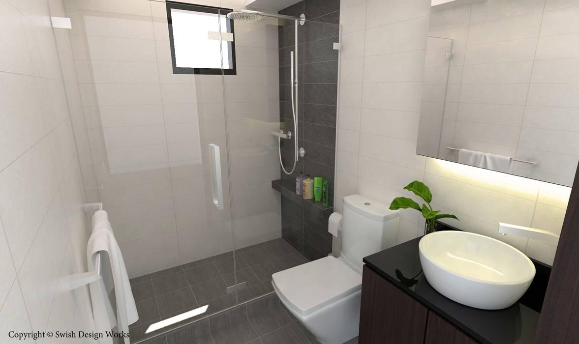 Jalan Tiga Classic style bathroom by Swish Design Works Classic