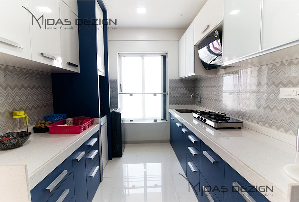 Mr. Vandan Somani:  Kitchen by Midas Dezign