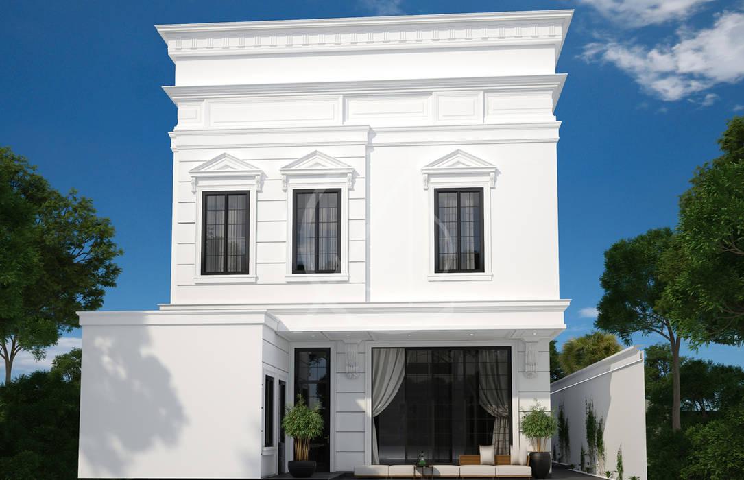 Neoclassical Saudi Arabian House Design:  Villas by Comelite Architecture, Structure and Interior Design , Classic