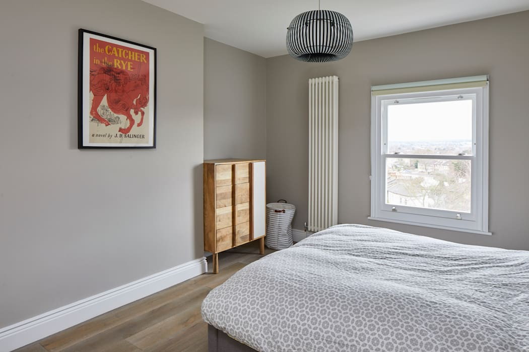 Home Renovation, Forest Hill, London:  Bedroom by Resi Architects in London