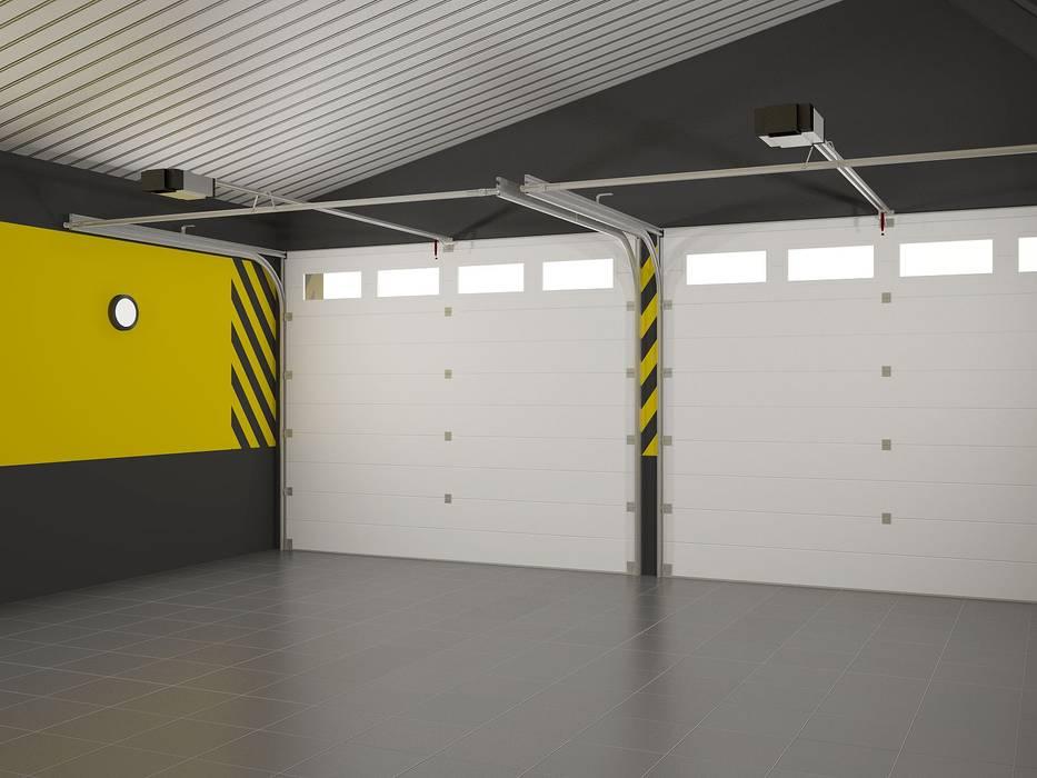 Porte da garage in stile  di Альберт Галимов, Eclettico