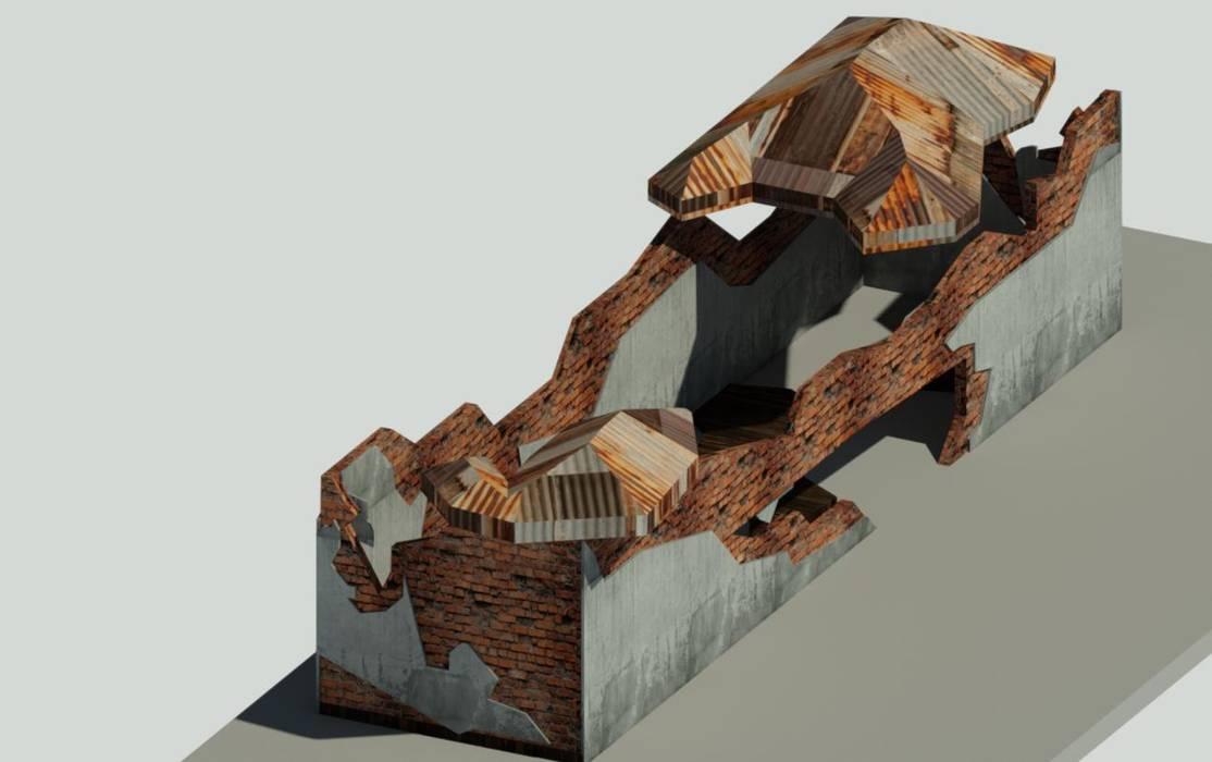 Kadir Kırıcı Architecture – 3D MODELLEME:  tarz Küçük Evler