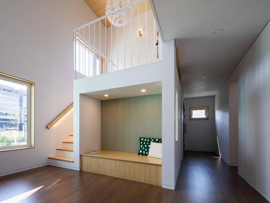 Living room by 소하  건축사사무소    SoHAA, Scandinavian