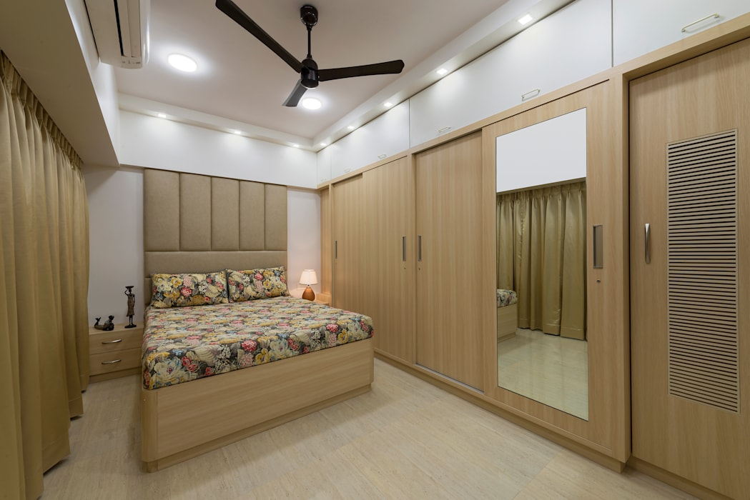 Master Bedroom : minimalist  by Chaitali Shah ,Minimalist