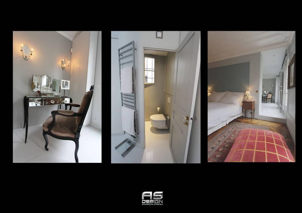 Suite parentale avec chambre, dressing et salle de bain ...