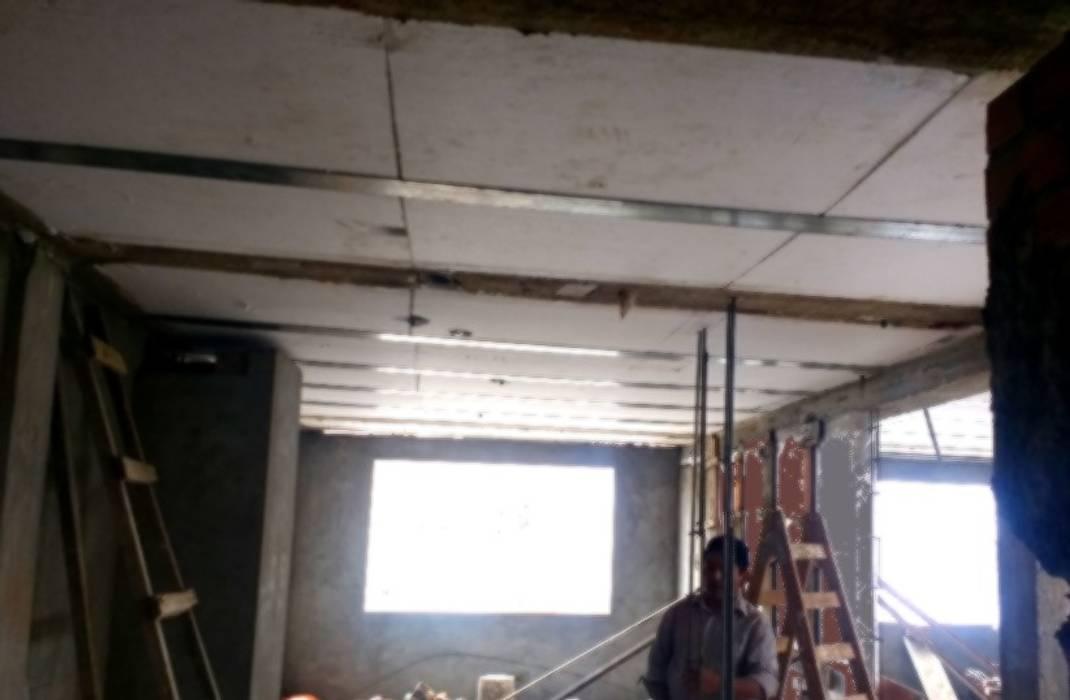 TECHADO TERMOACUSTICO SJM Paredes y pisos de estilo moderno de HOUSE PERU SAC Moderno Concreto reforzado
