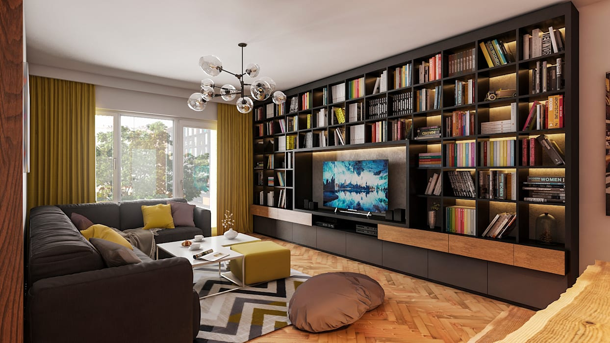 Beta İç Mimarlık – Salon 2:  tarz Oturma Odası,