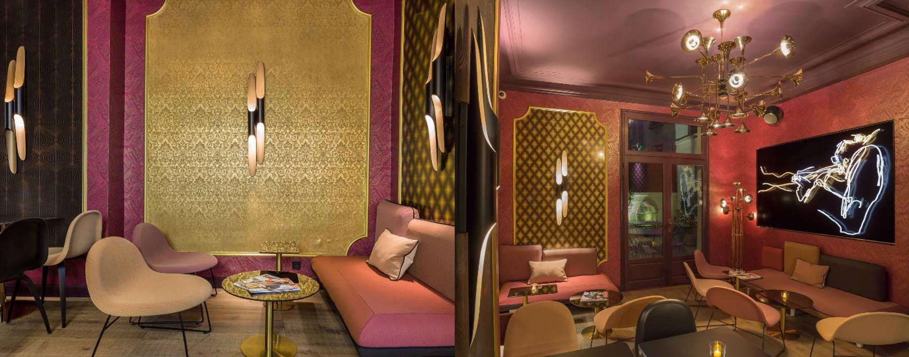 Idol Hotel, Paris by DelightFULL Сучасний Мідь / Бронза / Латунь