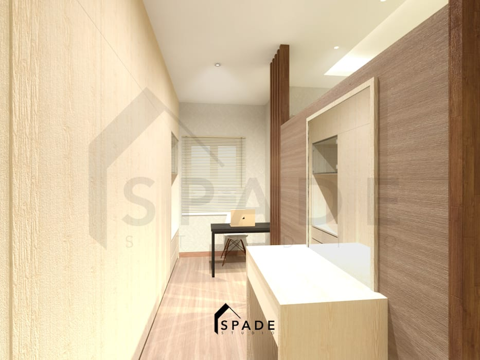 Study/office by SPADE Studio Indonesia