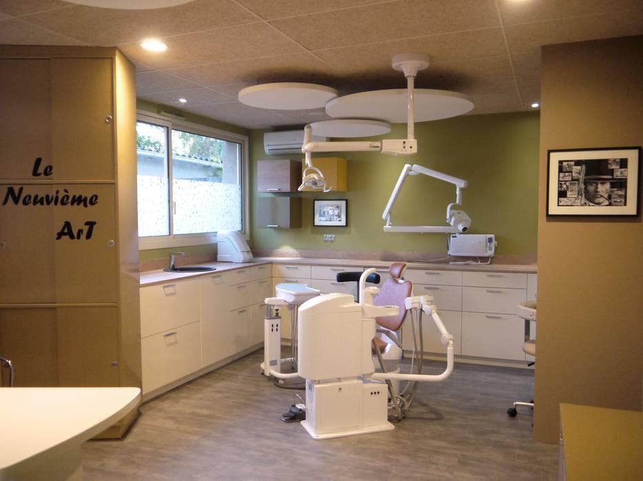 Cabinet Dentaire Chollet MIINT - design d'espace & décoration Cliniques originales Multicolore