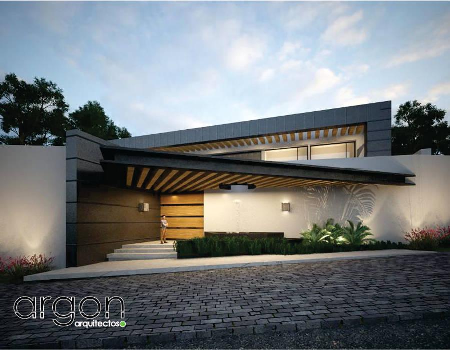 Puertas de estilo minimalista de Argon Arquitectos Minimalista