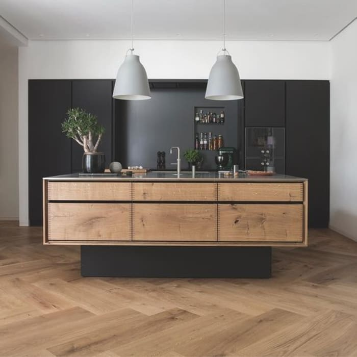 Oversized Parquet Flooring:  Floors by Wood Flooring Engineered Ltd - British Bespoke Manufacturer, Modern Engineered Wood Transparent