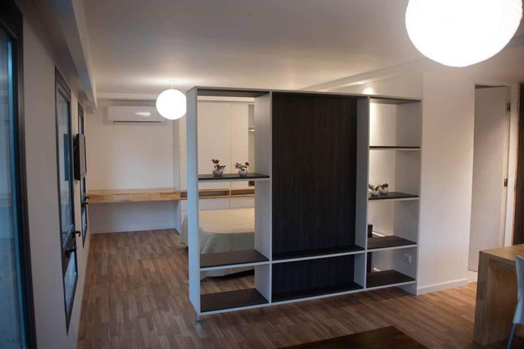 """Apart Hotel """"La Posada del Indio"""" Dormitorios minimalistas de Comodo-Estudio+Diseño Minimalista"""