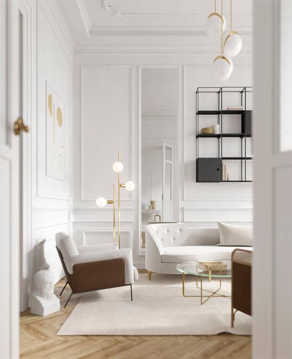 Living room by notooSTUDIO srl