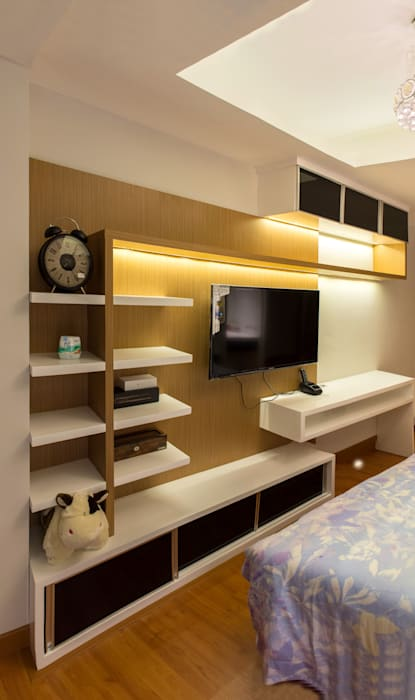 Bedroom Area: Kamar Tidur oleh Total Renov Studio, Minimalis