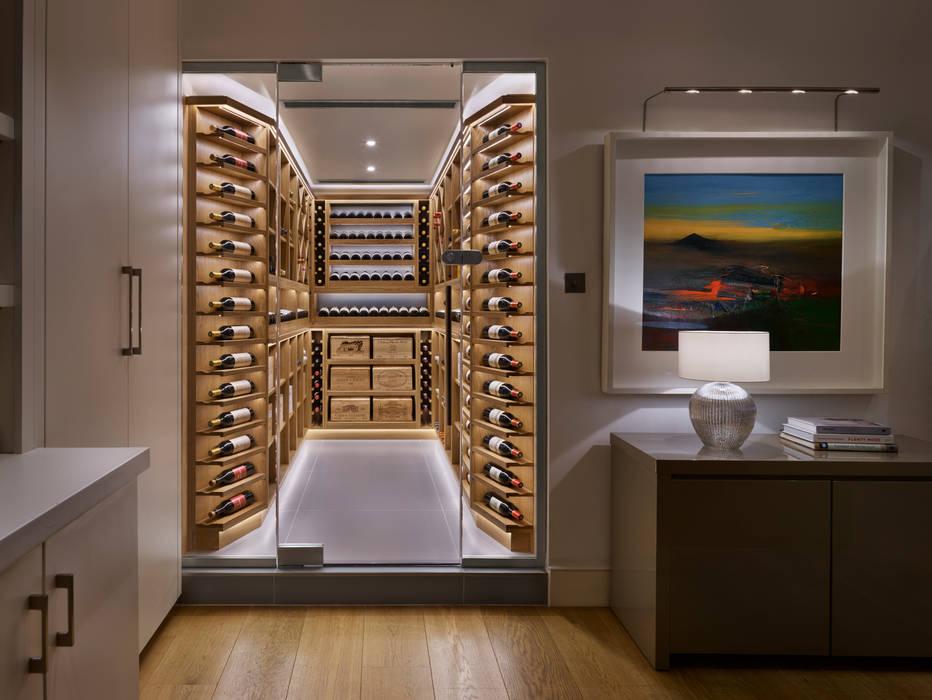 Wine Rooms & Wine Walls Modern wine cellar by Spiral Cellars Modern