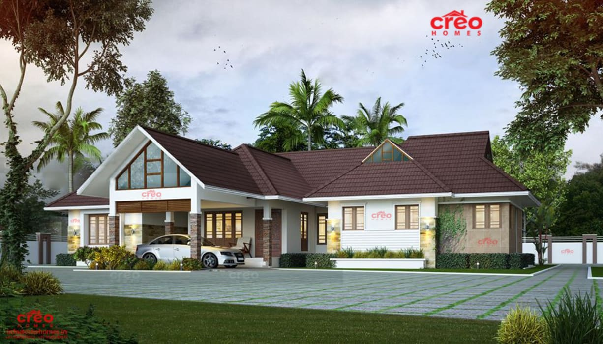 Kerala Asian Style Houses By Creo Homes