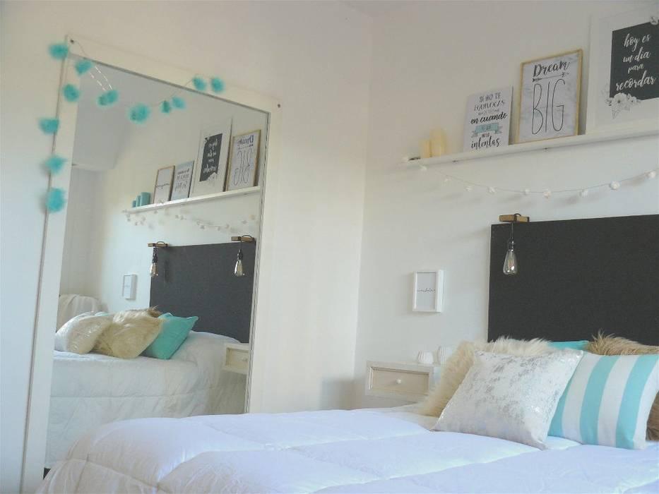 Diseño de habitación principal : Dormitorios de estilo  por Vanesa Dufourc - Diseño de Interiores,