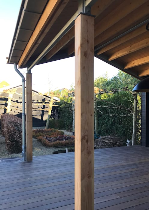 by MEF Architect Country Wood Wood effect