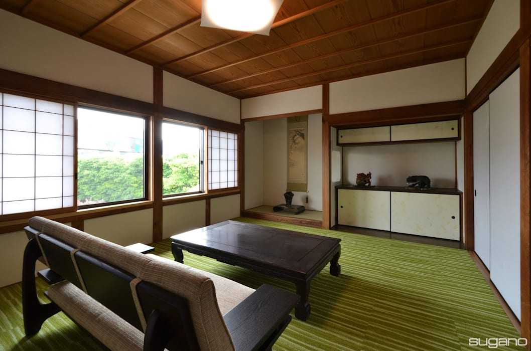 by 株式会社菅野企画設計 Asian Wood Wood effect