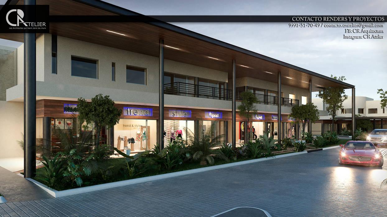 : Centres commerciaux de style  par CR Atelier