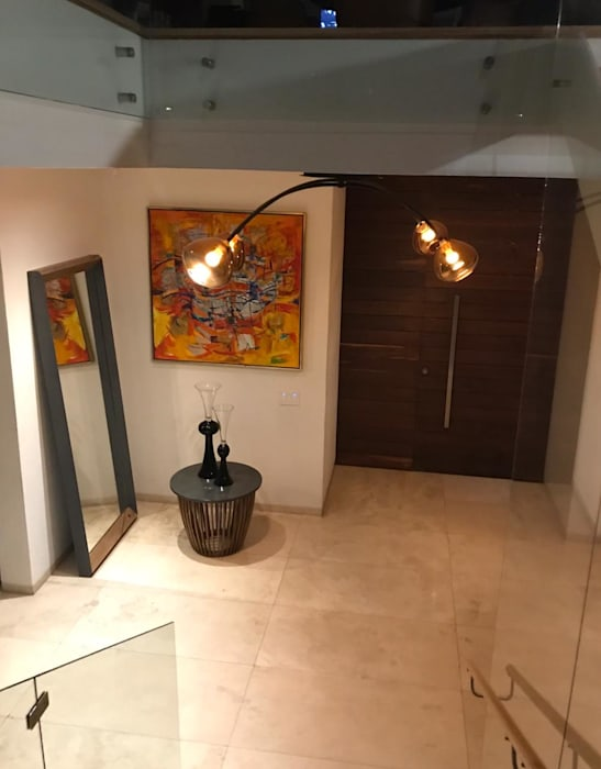 Luminosa ™ Espaces commerciaux minimalistes Verre Ambre/Or