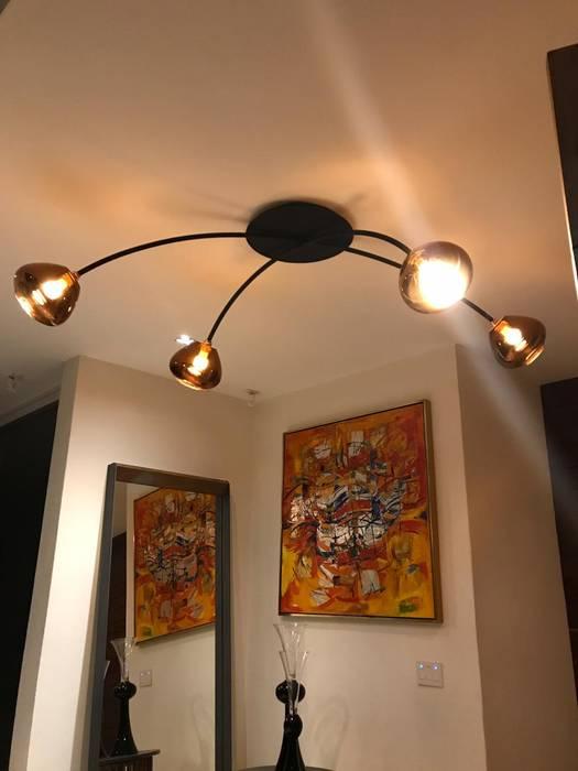Luminosa ™ Hôtels modernes Cuivre / Bronze / Laiton Métallisé / Argent