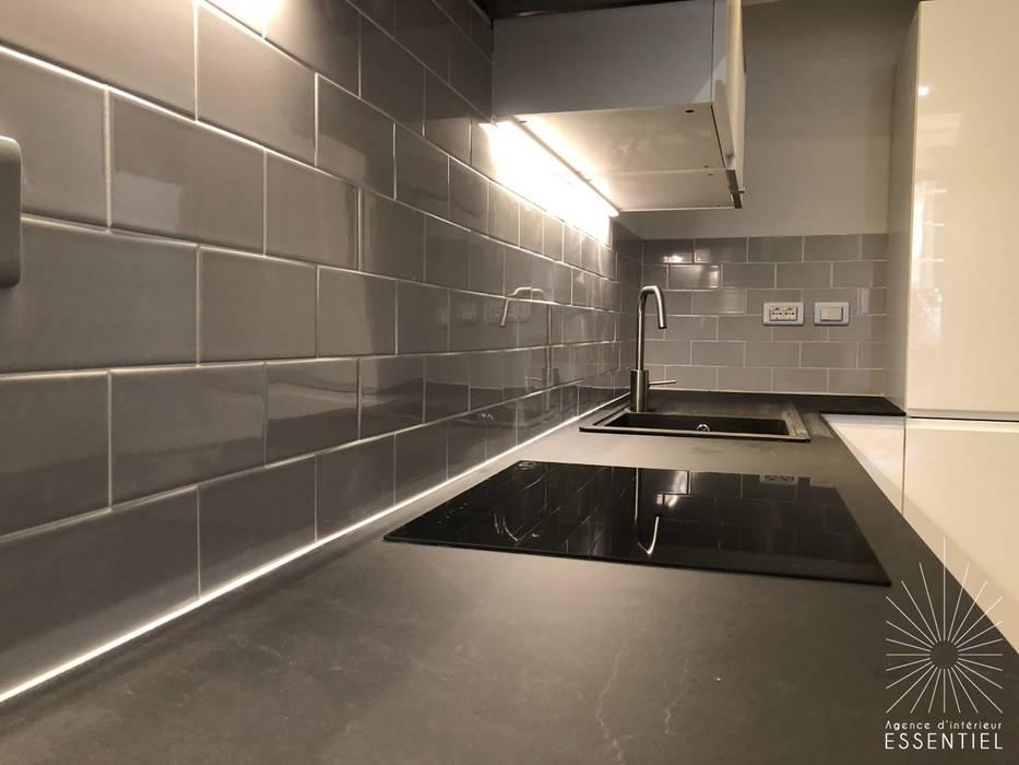 Appartement Bordeaux St Pierre par Intérieur Essentiel Moderne Pierre