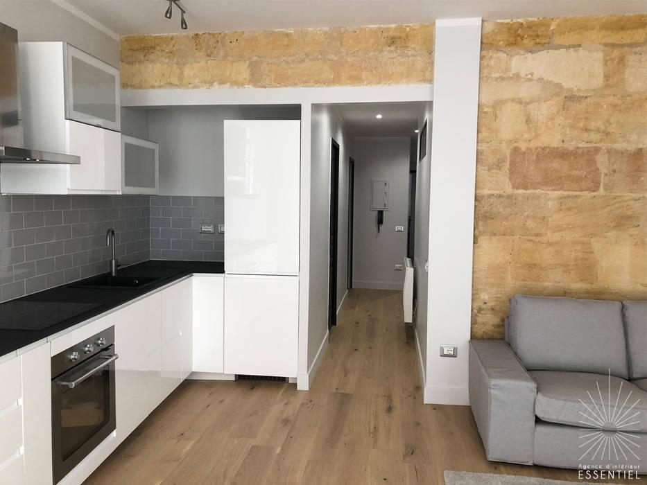 Appartement bordeaux st pierre salon moderne par intérieur ...