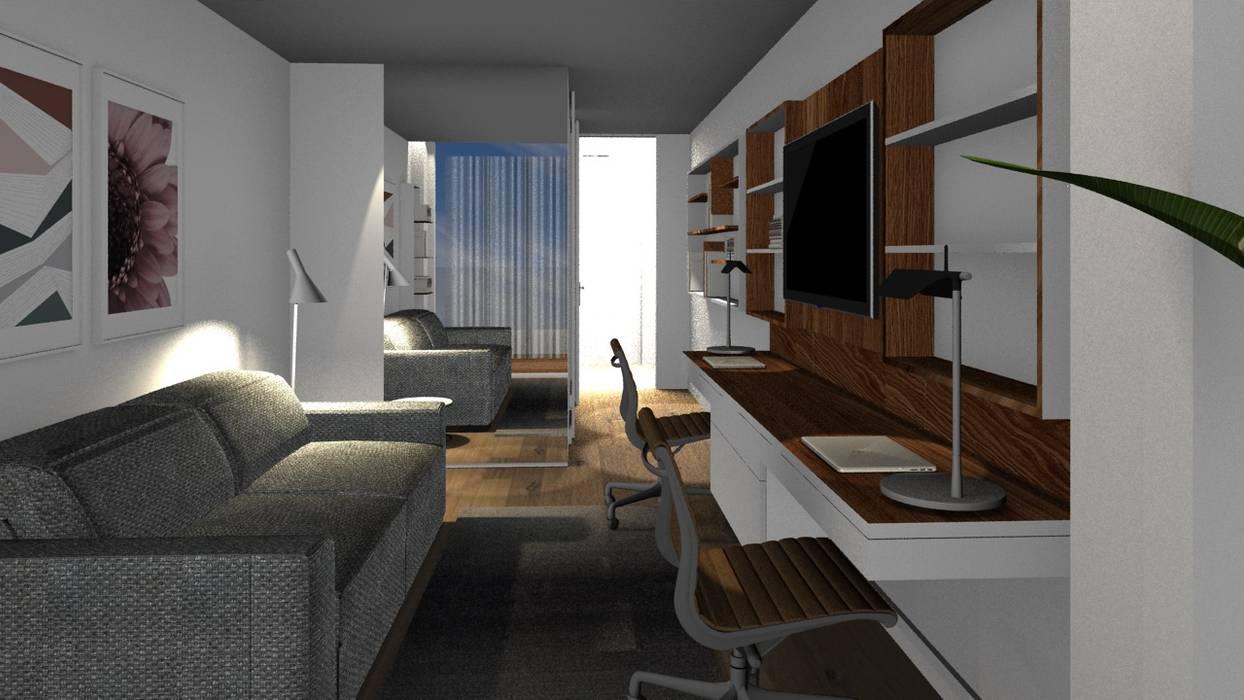 Study/office by Form Arquitetura e Design, Modern