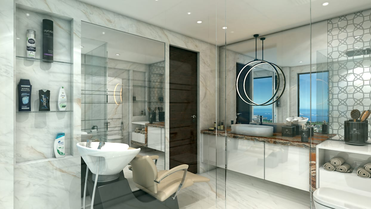 Guest Bedroom En Suite Modern Bathroom By Nuovo Ideas Modern Homify
