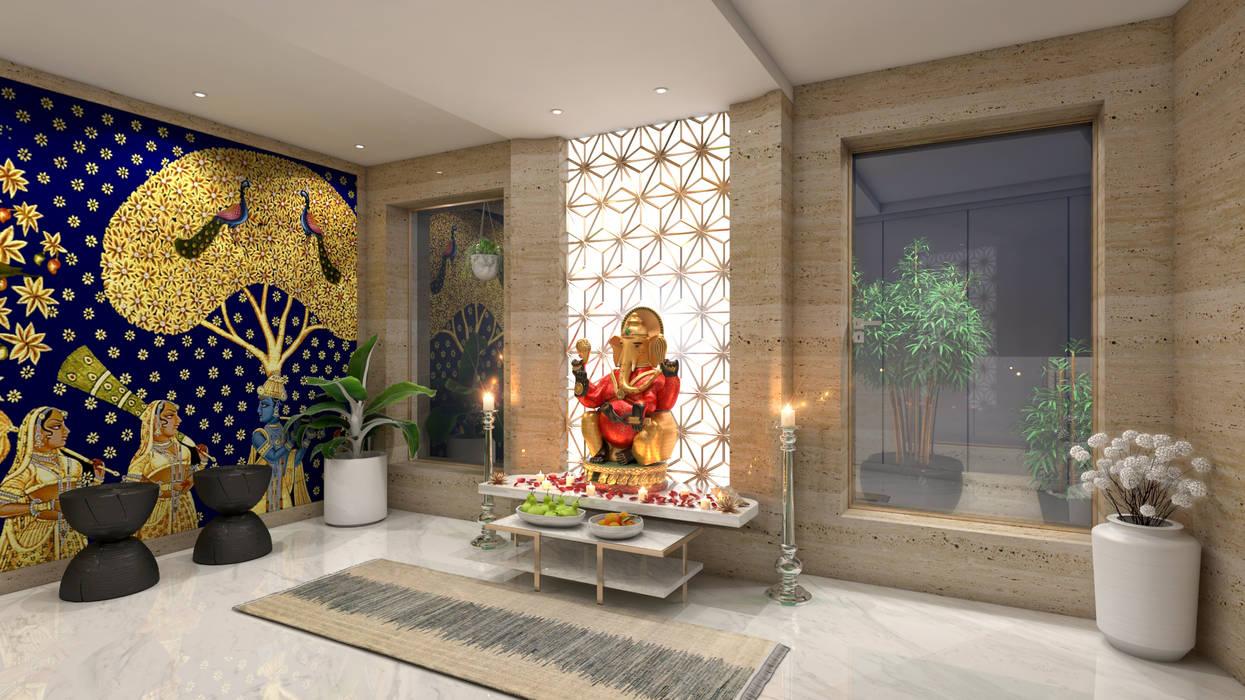Pooja Room:  Spa by NUOVO IDEAS,Modern